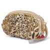 Animal Print Mini Leopard Coin Purse With a Wrist Strap