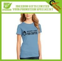 Promotional Custom Logo 100% Cotton T-shirt