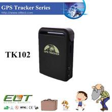 Waterproof TK102 with GEO-Fencing GSM GPRS SOS Panic Botton and Sim Card Signal Mini Hidden Personal GPS Tracker