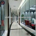 Divisória interior cortinas de vidro, temperado/parede de vidro laminado