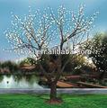Führte künstliche blume pfirsich baum licht landschafts-produkt künstliche bäume pfirsichblüte