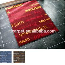 Fashional Felt Printed Logo Mat, Floor Mat, Door Mat 001