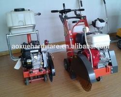 Construction concrete road cutter, asphalt cutting machine