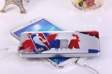 Mobile phone travel li polymer battery 12000mah portable slim power bank charger