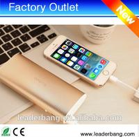2015Hot Model YB6016 Power Bank, slim cell phone power bank 13000mAh, rechargeable external yoobao Power Bank 10400mAh