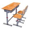 Double Student desk chair,school furniture,student desk