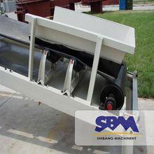 High quality, good energy conveyor belt vulcanizing cleaning machine