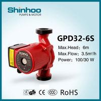 32-6S GPD Shinhoo Small Home Using Circulation Solar Pump for Water