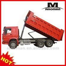 China shanghai sinotruk howo camión de volteo/camiones para la venta