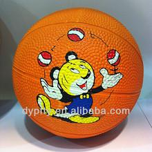 mini rubber basketballs 1# for kid