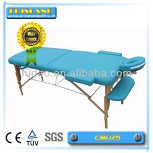 wood leg massage table manufacturer