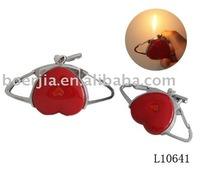new style lighter, flame fashional heart shape lighter