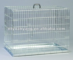 crate for flamingo foldable wire cage dog kennels pet crate wire crate