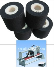 BLACK FINERAY XF XJ type Black 36mm*32mm colored hot ink roller to print date No.and batch No. on packaging bags