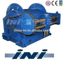 INI 500kN 50 ton hydraulic mooring winch