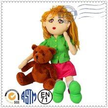 High quality hot selling customed cute 12 inch fashion doll