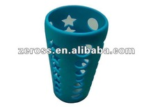 New Design Eco-friendly Food Grade Silicone Cup Sets/Silicone Sleeve---2012 Hot Selling