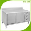 Restaurante de acero inoxidable armario de la cocina BN-C08