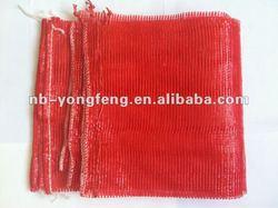 Circular leno mesh bags