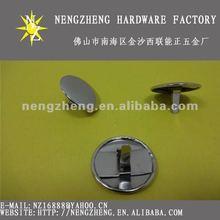 Simple design metal nails shank button,fancy decorative nails