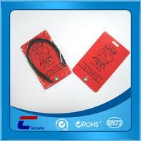 Plastic luggage tags wholesale