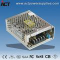12v 5a fuente de alimentación de conmutación/60w matel cáscara del conductor del led