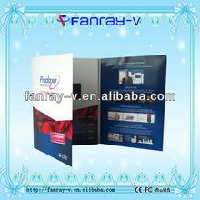 digital video brochure card for adverting new marketing tool