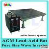 Multi-functional solar generator:200W solar panel,5.5V/12V/220V solar generator