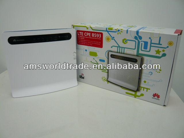 cpe راوتر هواوي b593 lte 4g b593s-22 مع فتحة لبطاقة sim
