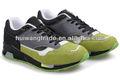 venta al por mayor 2014 verde negro ceniza zapatos deportivos de marca caliente más populares de calzado deportivo de alta calidad zapatos de deporte para los hombres