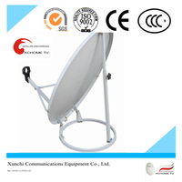 gps tv satellite dish positioner 0.9m