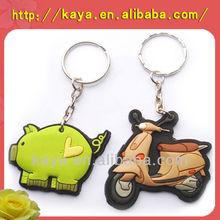 2015 hot sale 2D/3D plastic custom keychain,pvc keychain.
