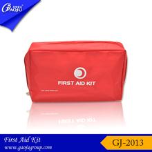 GJ-2013 Crescent logo medium size nylon material car first aid kit