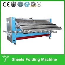Bed sheets automatic laundry folding machine