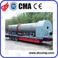 china eficiente de tambor rotatorio equipo de secado con la energía ahorrada