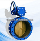 8 inch worm gear operated butterfly valve ,handles