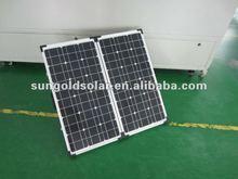 Sun power 18v portable solar panels 80w for home use