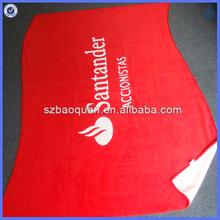 Reactive printed customized towel beach