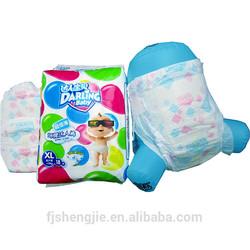 Magic Tape Clothlike Backsheet Baby Diaper Sleepy Baby Diapers