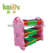 2015 New Type Colorful Plastic Toy Cabinet