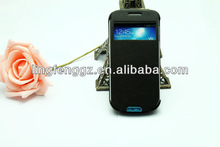 hot sell battery cover mobile phone leather case for samsung s4 zoom