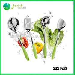 2014 Hot Sale food grade silicone kitchen tool set/silicone kitchen accessories/ colorful bbq silicone kitchen utensil set