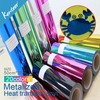 metalized heat Transfer Vinyl and Vinyl Transfer Paper