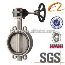 J butterfly valve stainless steel for valve shut off