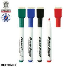 INTERWELL BM88 Non-toxic Fiber Tip Dry Erase Marker Pen