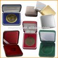 De gama alta caja medalla moneda insignia
