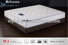 bonnell spring knitted fabric used hotel mattress for sale