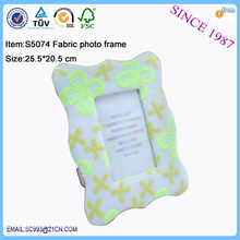 OEM NEW DESIGN rectangle fabric fashion sexy picture photo frame