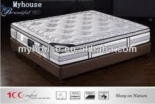 modern sleepwell compressed spring mattress queen