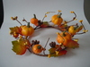 2014 New style decorative artificial foam pumpkin candle ring & wreath